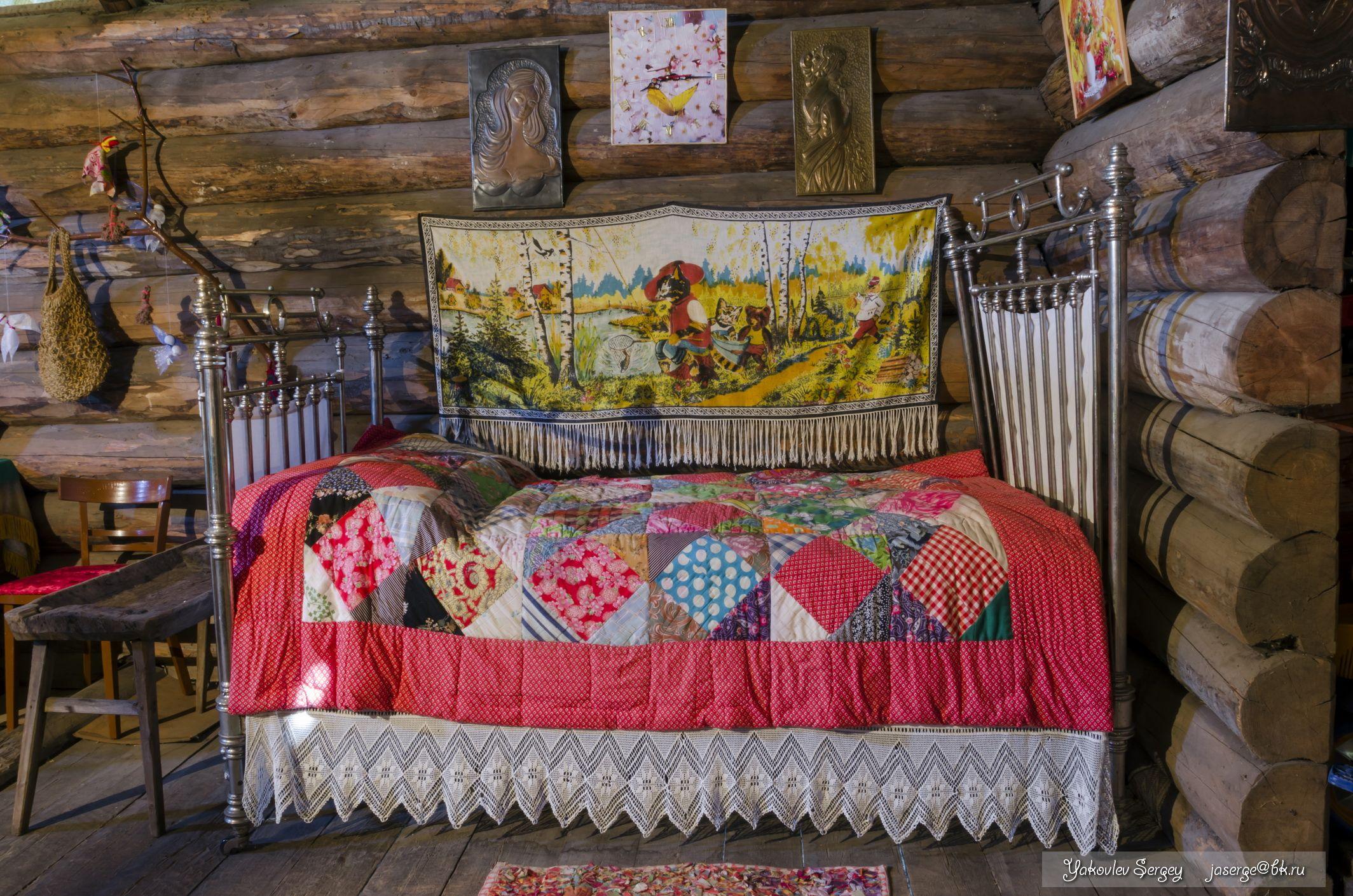 Русские дома на кровате 3 фотография