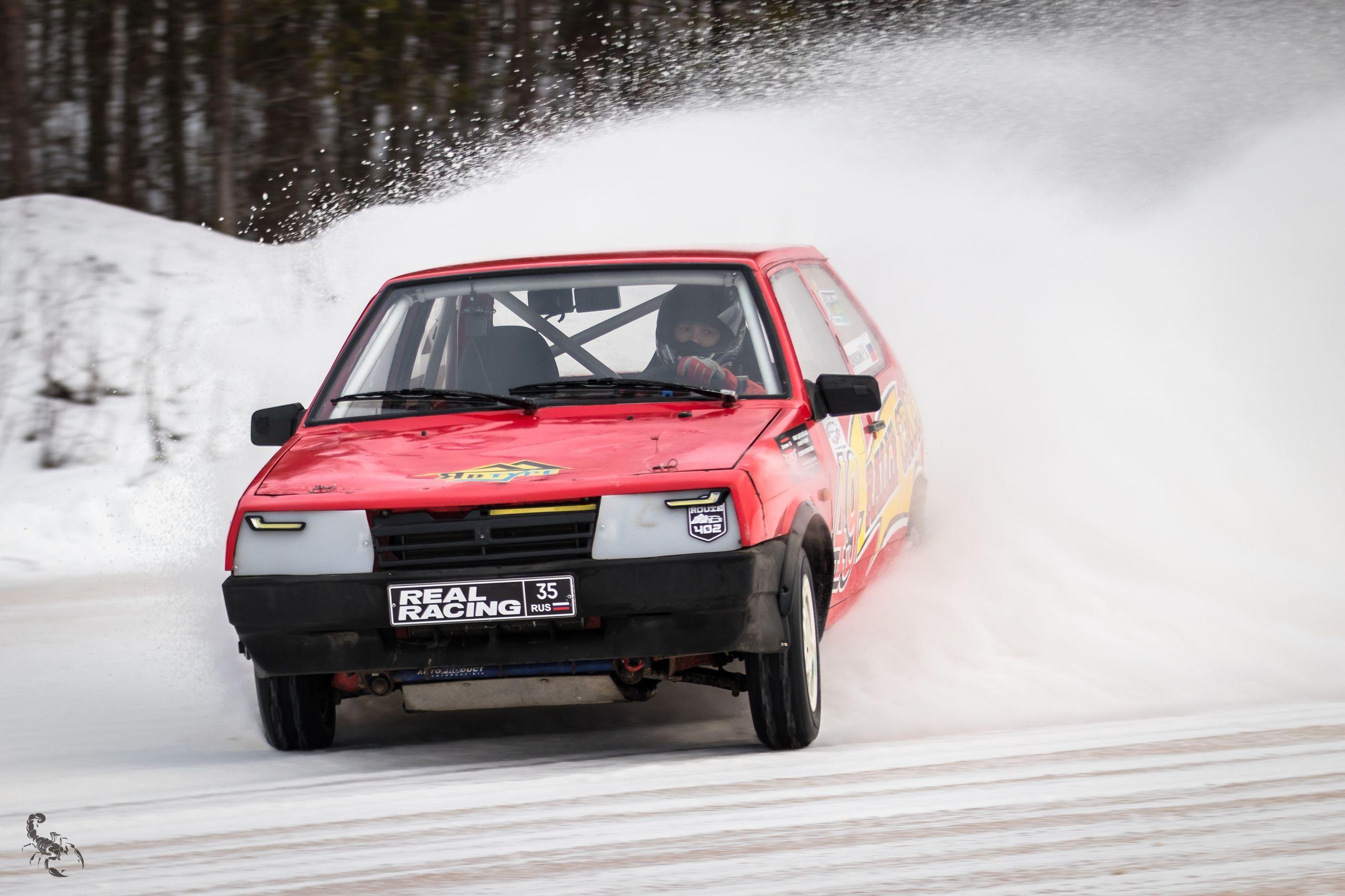 На трассе «Ледовая миля» состоялся этап Кубка России по ледовым гонкам